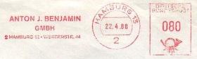 Hamburg-Anton-Benjamin-1988-Musikverlag